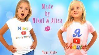 Мы открыли СВОЙ МАГАЗИН / УКУСИЛА ОСА на съемках клипа /  Фотосессия моделей Николь и Алисы !!