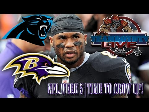 TeamBoydTV LIVE!!!  NFL Week 5 | Time to Crow Up!