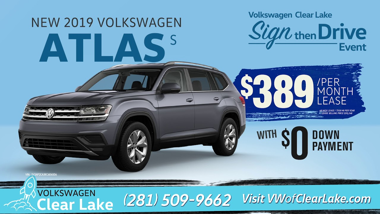 Clear Lake Vw >> Vw Clear Lake December Sign Then Drive Event