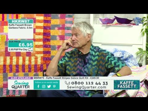 Sewing Quarter - Kaffe Fassett Special - 10th August 2017