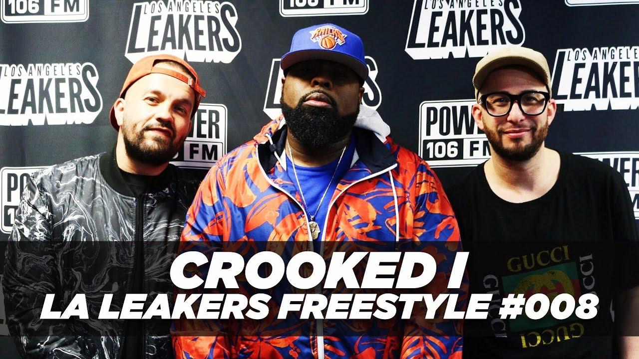 Crooked I Drops Dope Freestyle With The LA Leakers