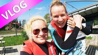 VLOG DIY Inspiration unterwegs | NEUES Wasserski Abenteuer mit Eva & Kathi | On Tour