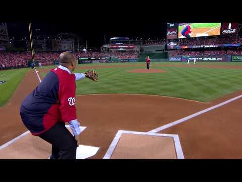 Deanna King - Watch David Bellavia Throw Out First Pitch at Nationals Game