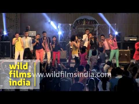Pharrell Williams 'Happy' cover by Shillong Chamber Choir in Delhi
