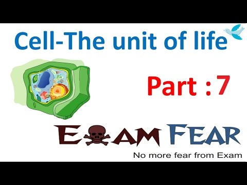 Biology Cell Unit Of Life Part 7 (Structure Of Cell: Plasma Membrane, Diffusion) CBSE Class 11 XI