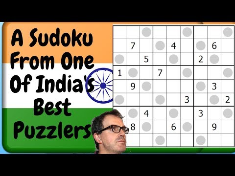A Sudoku From One Of India's Best Puzzlers