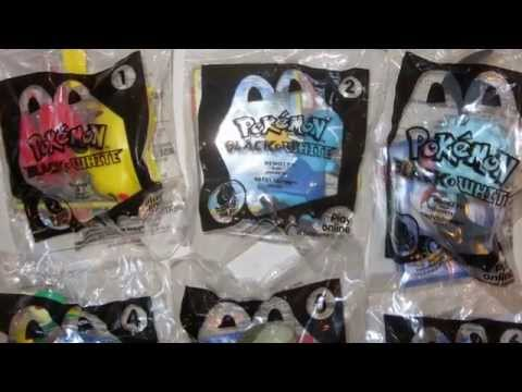 McDonalds Happy Meal Toys Collectables Pokemon Hello Kitty Smurfs Barbie