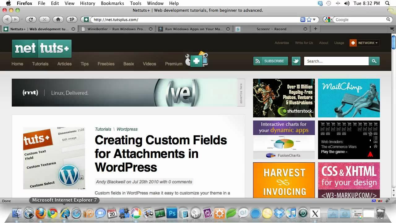 internet explorer 7 free download for macbook pro