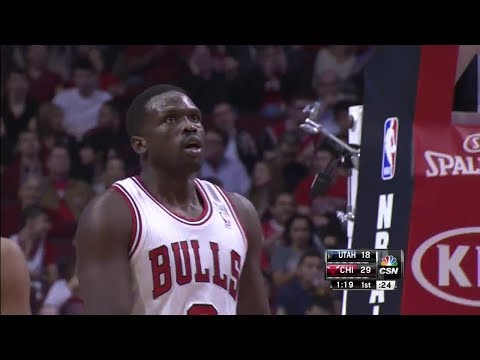 Luol Deng Full Highlights vs Jazz - 19 Points 11 Rebounds 9 Assists (2013.11.08)