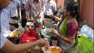 Bhel, Peanuts & Aloo Puri: Yummy Indian Street Food at Gurukul Kumar Vidhyalay School Katargam Surat