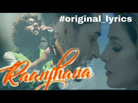 Raanjhana Lyrics- Priyank Sharmaaa & Hina Khanasad Khan Music Originals