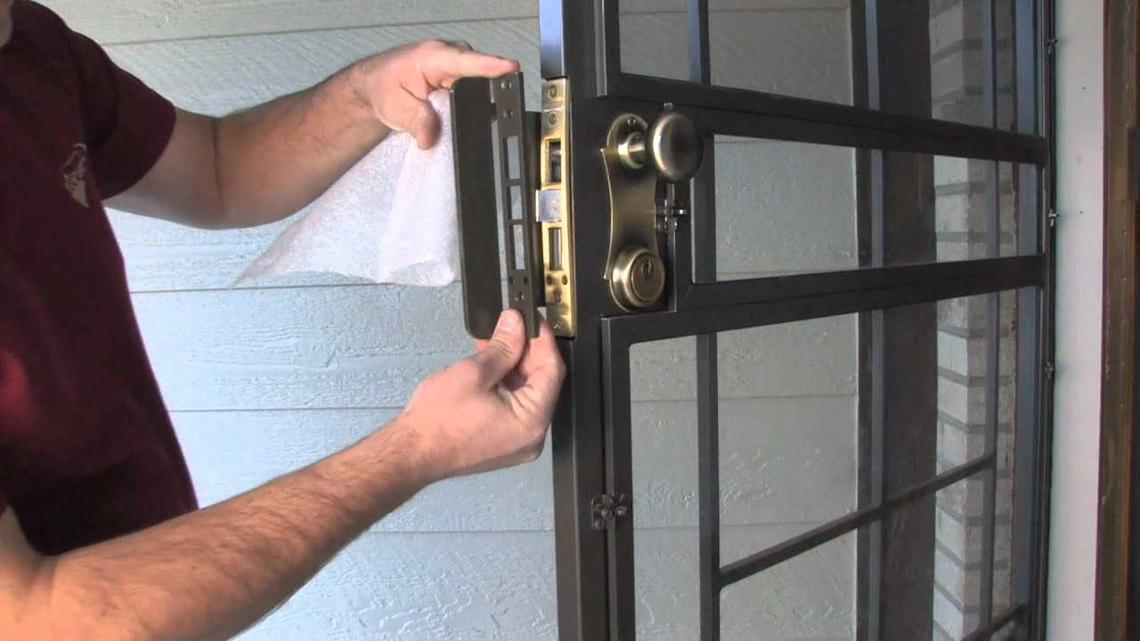 Good Lock Guard Armor™ Security Door Lock Enhancement   By Secure All Doors    YouTube