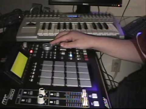 MAKING A BEAT ON THE MPC2500