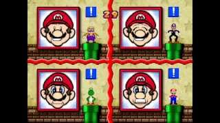 Mario Party 3 Netplay 4 player Minigame: Picture Imperfect round 2