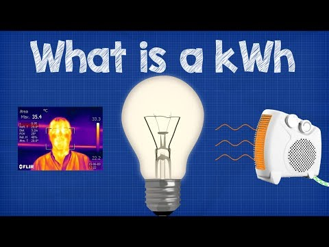 What is a kWh - kilowatt hour  + CALCULATIONS 💡💰 energy bill