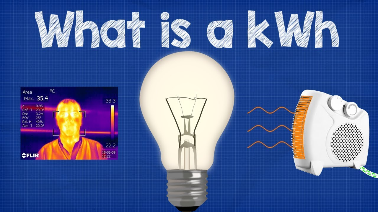 What is a kWh - kilowatt hour  + CALCULATIONS ???????? energy bill
