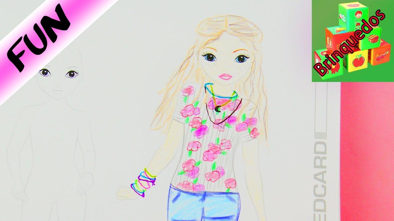 Sou Luna No Livro De Desenhos Topmodel Youtube