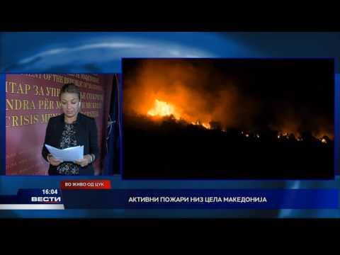 Активни пожари низ цела Македонија