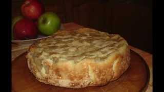 Самый простой рецепт шарлотки с яблоками