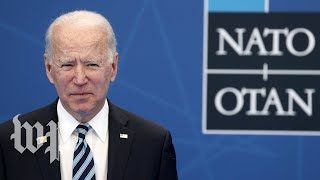 Biden holds news conference after first day of NATO summit (FULL SPEECH 6/14)