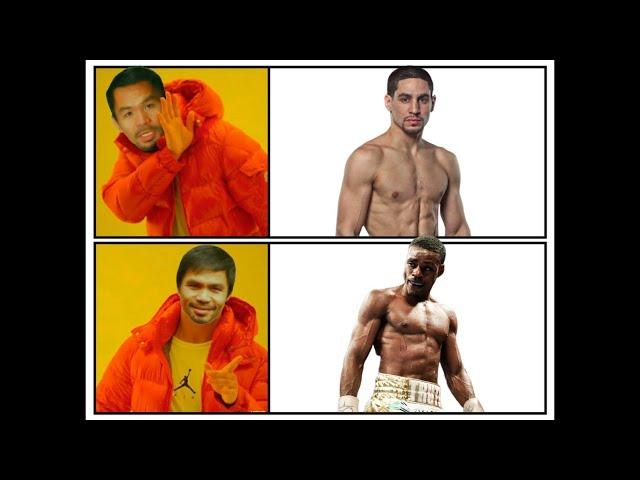 We want Manny PACQUIAO for PRESIDENT!!! and FIGHT SPENCE Jr. not DANNY GARCIA!