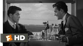 A Perfect Murder - Strangers on a Train (2/10) Movie CLIP (1951) HD