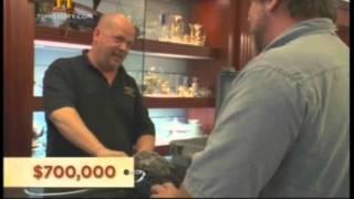 tesoro valuado en 700,000 dolares