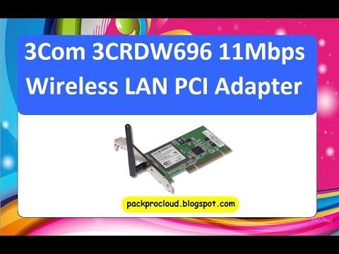 3Com 3CRDW696 Wireless LAN PCI Adapter Driver