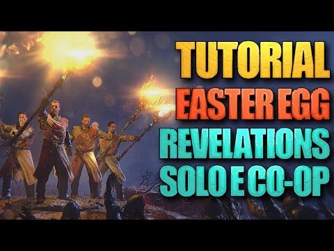 TUTORIAL: Como completar o EASTER EGG de REVELATIONS [SOLO E CO-OP] - BO3 Zombies