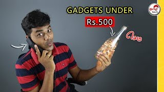 7 interesting Weird Gadgets under 500 | Tamil Tech