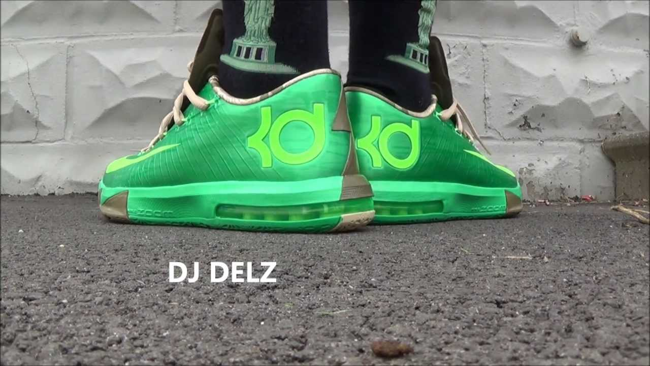 59837a57ef2a27 Nike KD 6 VI Bamboo Sneaker Review + On Feet With  DjDelz - YouTube
