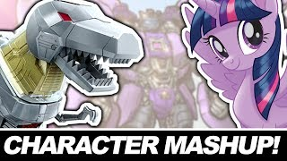 CHARACTER MASHUP ART CHALLENGE! My Little Pony + Transformers Grimlock!