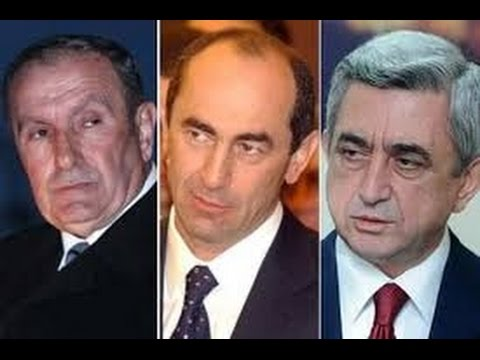 Тер-Петросян, Кочарян, Саргсян до сих пор не наказаны за мартовские события 2008 года в Ереване