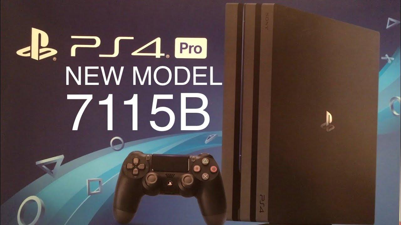Ps4 Pro Model 7115b Youtube