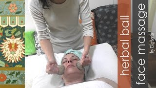 Herbal Ball Face Massage - by Elefteria
