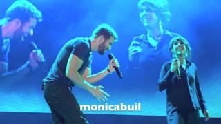 Pablo Alborán - Sous le ciel de Paris (con Zaz), concierto Barcelona, 18 junio 2015