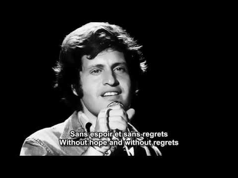 Et si tu nexistais pas   Joe Dassin  French and English subtitlesmp4
