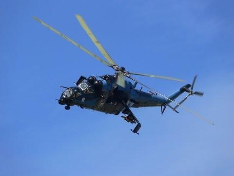 Mi - 24 & 2x Mi - 17 - Display