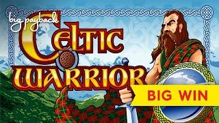 Celtic Warrior Slot - BIG WIN BONUS - LOVED IT!