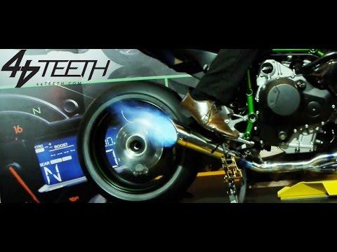 On The Dyno Kawasaki H2r Youtube