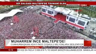 Muharrem İnce İstanbul Mitingi 23 Haziran 2018