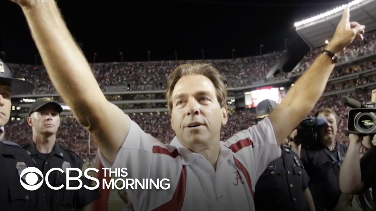Alabama football coach Nick Saban tests positive for COVID-19