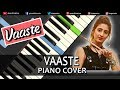 Vaaste Song Dhvani Bhanushali | Piano Cover Chords Instrumental By Ganesh Kini