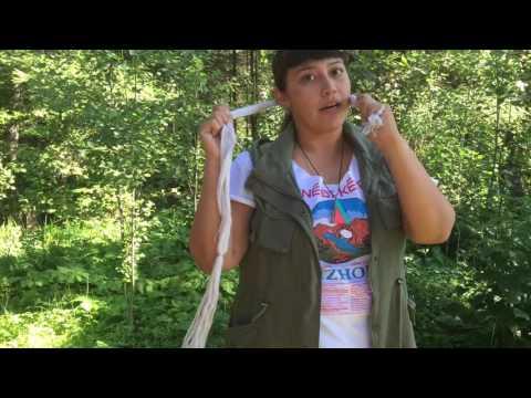 Grownup Navajo: Tsiiyéeł Hair Tutorial