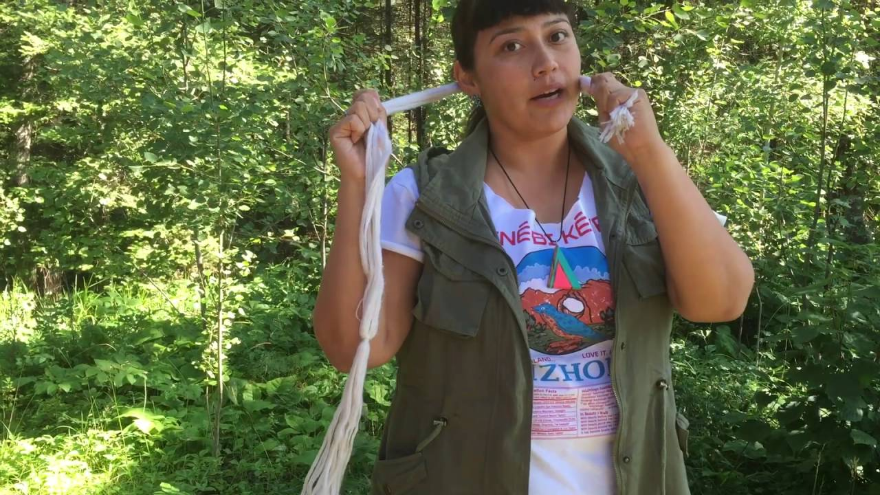 Grownup Navajo Tsiiyéeł Hair Tutorial Youtube