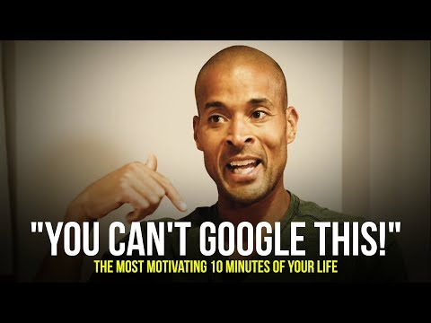 "David Goggins ""YOU CAN'T GOOGLE THIS""  The MOST Motivational Speech You'll Hear in 2019"