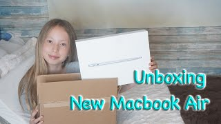 New MacBook Air Unboxing💻✨