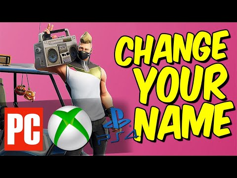 HOW TO CHANGE YOUR FORTNITE NAME in Season 9 (How to Change your Epic Games Name 2019)