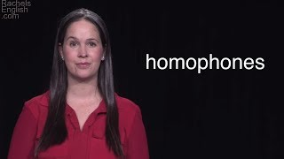 Homonyms and Homophones – The Most Common Homophones in English – Learn Grammar