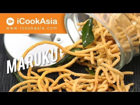 Maruku Murukku Indian Crispy Snack Try Cook Icookasia Youtube